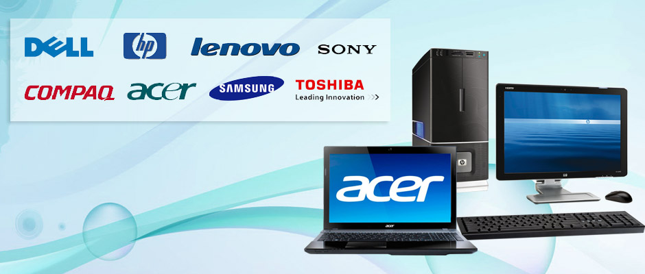 we can repair all brand of laptops and desktop systems